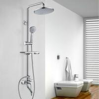 Copper faucet shower shower shower set supercharged shower shower shower set hand-held shower set sh