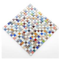 Crystal ice cracks, mosaic tiles, loinline, Mediterranean wall, kitchen, toilet.
