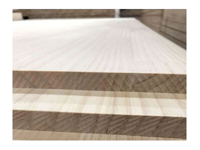 New Zealand pine solid wood refers to the plate integration board straight box closet board direct p